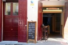 mis bares, mesones, restaurantes...... preferidos / by Cocina y Aficiones Concha Bernad