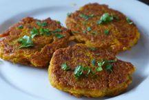 Savoury Vegan & Vegetarian Patties / These recipes can be Veganised...