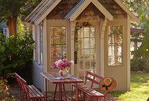 летние домики и сараи