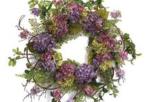 Wreaths of all kinds and other door decor / by Susan Metzler