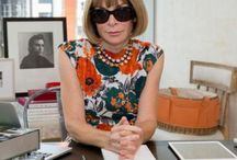 VOGUE....Anna Wintour. STAFF