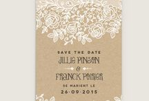 Mariage Save the date