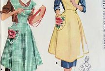 Vintage Apron Patterns / Vintage Apron Patterns, Greeting Cards and Vintage Ads. / by M Armstrong
