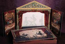Toy Theatre - Papiertheater - Paper Theatre / toy theatre, papiertheater, spielzeugtheater