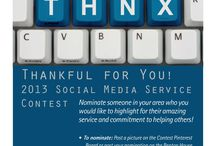 Thankful For You! / Thank someone special in your area who you would like to highlight for their amazing service and commitment to helping others! Post your nomination on the Benton House! All posts will be entered into a drawing for $1,000 dollars!
