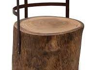 Taburete tronco