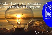 Dream Big / Pin op dit bord datgene waar jij van droomt. Wellicht kunnen wij er samen werk van maken. Dream your life, live your dream and make it happen. Werk aan de lifestyle waar jij van droomt; werk aan de lifestyle die jij verdient!
