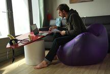 SOKAMP #Tumegonfles - Shooting Hossegor / Les aventures continuent pour l'équipe SOKAMP et le lancement de la première marque de meubles gonflables pour étudiants. Nous sommes sur Hossegor pour un événement de surf, avec nos fauteuils gonflables BIG BOY. / by SOKAMP