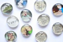Fun Gift Idea / Party Favor: The Creative Place: DIY :: Glass Magnets