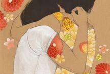 Abbraccio fiori