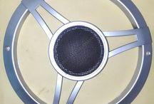 Grill Speaker 8 Inchi Mercy Silver