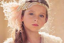 Flower Girl Baby Headband / Flower Girl Baby Headband Sashes Belts