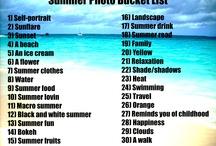 Summer photo challenge
