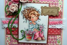 Cards - Wee stamps, Sylvia Zet