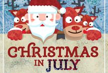 Christmas in July / Christmas in July Island Batik Ambassador Projects!