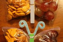Snack ideas for school / by Leslie Gould