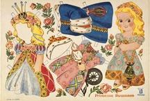 Paperinukkeja - paper dolls