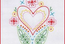 Embroidery Hand & Machine Sewing Projects / Find hand and machine embroidery projects and inspiration here.
