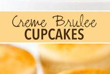 Brûlée cupcakes