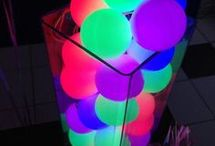 Neon/ Glow in the dark birthday party ideas / ideas for my birthday parties