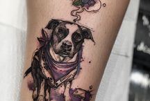 Dog Tattoo idea's