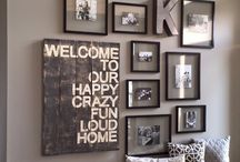 Entry way decor