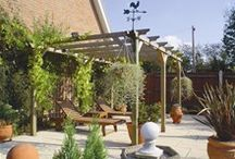 Garden Design: Pergolas and Woodland / Pergolas and woodland garden ideas- Surbiton