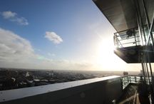 The View From The Top Of K2, Albion Street, Leeds. / We are privileged enough to have the penthouse apartment of K2 on our books, and as a result have taken some images of Leeds City Centre from a great height!
