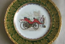 Transport and Motors / Planes, trains, cars,vans,bicycles, horse and cart,buses, farm machinery, boats,tugs. Prints, photographs,embroidery, decorative hanging plates.....