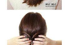 hair, pins and barrettes