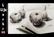 Drawing with Lineke Lijn