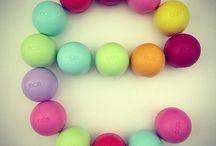 LIP BALMS / Cool and cute lip balms