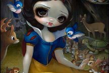 Paiting Jasmine Becket-Griffith