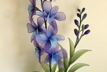 NYLON FLOWERS - FLORI DIN NAILON