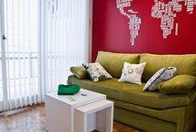 Decoración / Decoration / Decoración de casas de Argentina. Los más originales recursos decorativos y los diferentes estilos. Inspirate y conocé más a través de nuestra web. www.portaldearquitectos.com