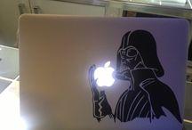 Vos MacBook et iPhone / Vos MacBook et iPhone en photo personnalisés avec les sticker iSticker!