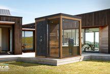 Color Family Outdoor Saunas