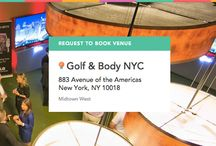 Golf & Body on ExpressBook / Book this experience: The 19th Hole, situated in the Back Bay 1 - Visit: https://venuebook.com/venue/824/golf-body-nyc/ / by VenueBook