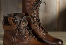 Footwear / Leather boots, fur boots, shoes & sandals / by Overland Sheepskin Co.