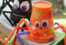 Halloween kids' craft ideas