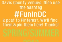 Summer of Fun / Over 40,000 elementary school age youth were encouraged to get out and explore Davis County this summer (2013). Here are some of the #FunInDC tags