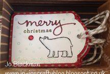 Geschenkeanhänger zu Weihnachten mit Stampin´ Up! / Ein selbst gebastelter Anhänger ist eine tolle Überraschung und macht jedes Geschenk zu etwas Besonderem. / by Stampin' Up! Deutschland / Österreich