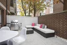 Outdoor Space Design / Beautiful and Modern Outdoor Spaces designed by Dresner Design in Chicago, IL. Patios, balconies, backyards and more.