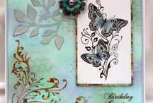Cards - chocolate baroque inspiration