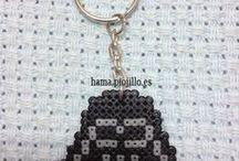 A Hama  beads