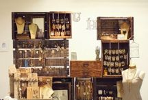 Inspirational jewellery displays / Lots of great jewellery display ideas