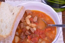 Soups, Chilis & Stews / Recipes to warm you up. / by Cosmopolitan Cornbread