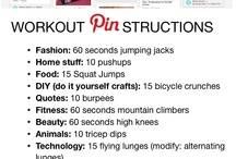 Workout Session / Serious workouts & funny memes, along with some recipes. / by Jenna Cooley