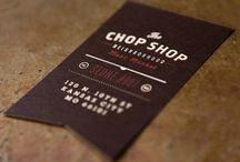 Business Cards / An inspirational set of Business Cards I use for inspiration.