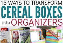Clear the Clutter / Inspiration for clearing clutter and getting organised